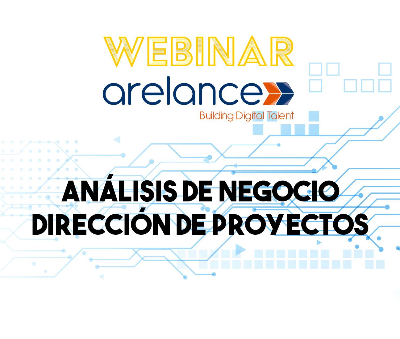 Webinar - Análisis de negocio y Dirección de proyectos
