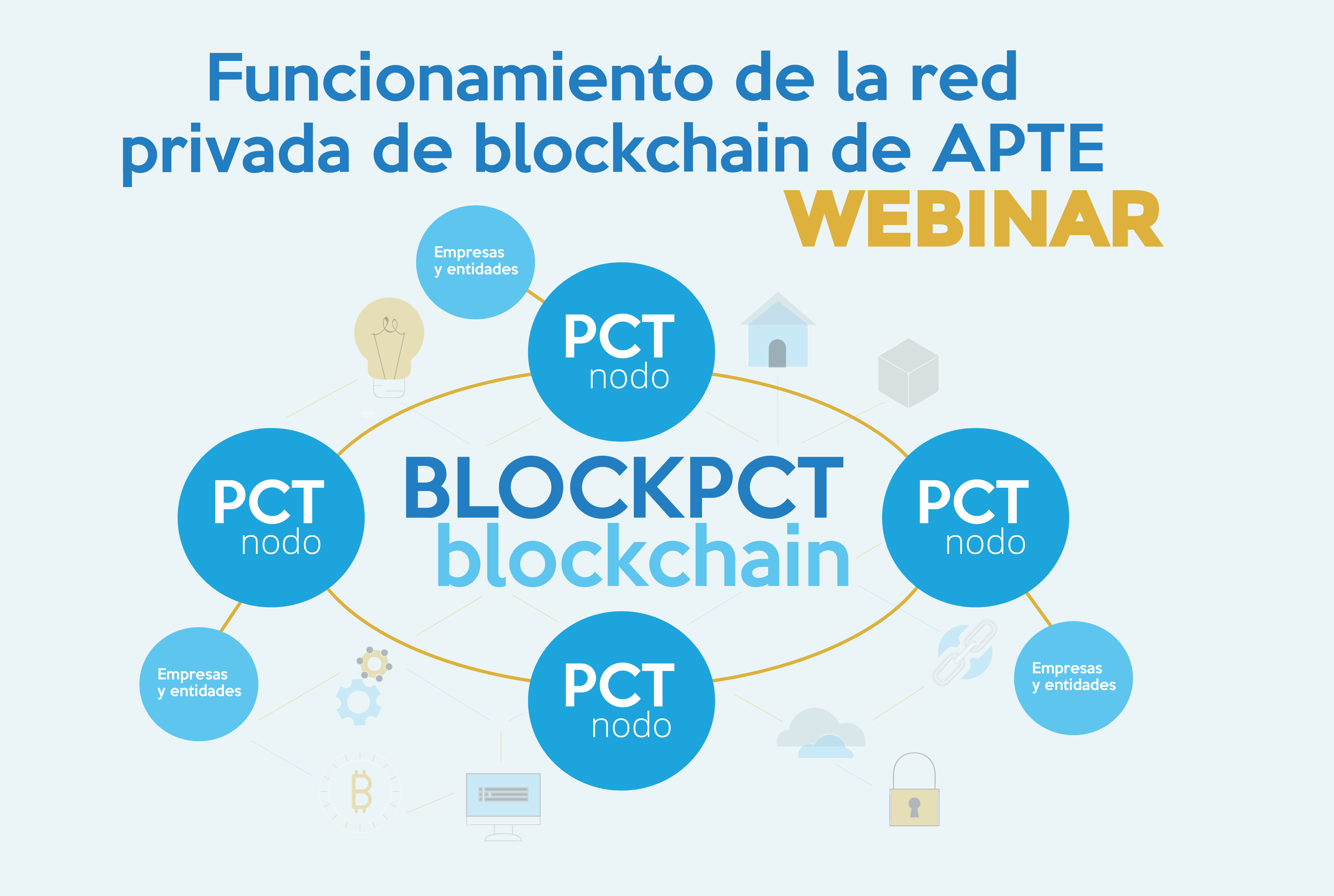 WEBINAR Red Privada Blockchain de APTE